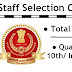 Staff Selection Commission Recruitment 3261 posts
