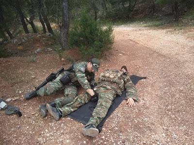 Εκπαίδευση ΛΕΦΕΔ στο Tactical Combat Casualty Care (TCCC)