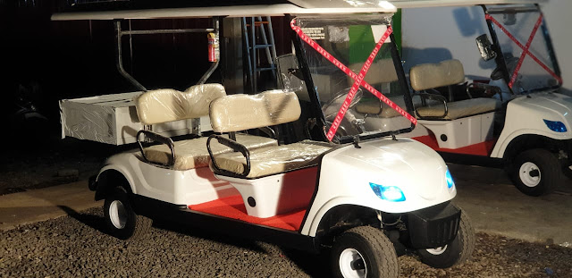Mobil Golf Car Cargo Box