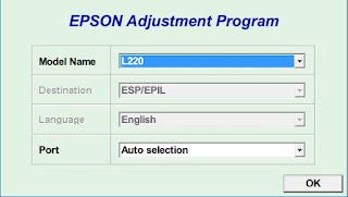 Epson L220 Resetter
