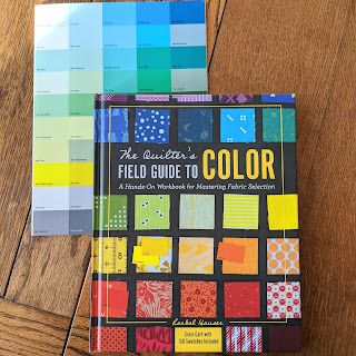 The Quilter's Field Guide to Color book and color swatches