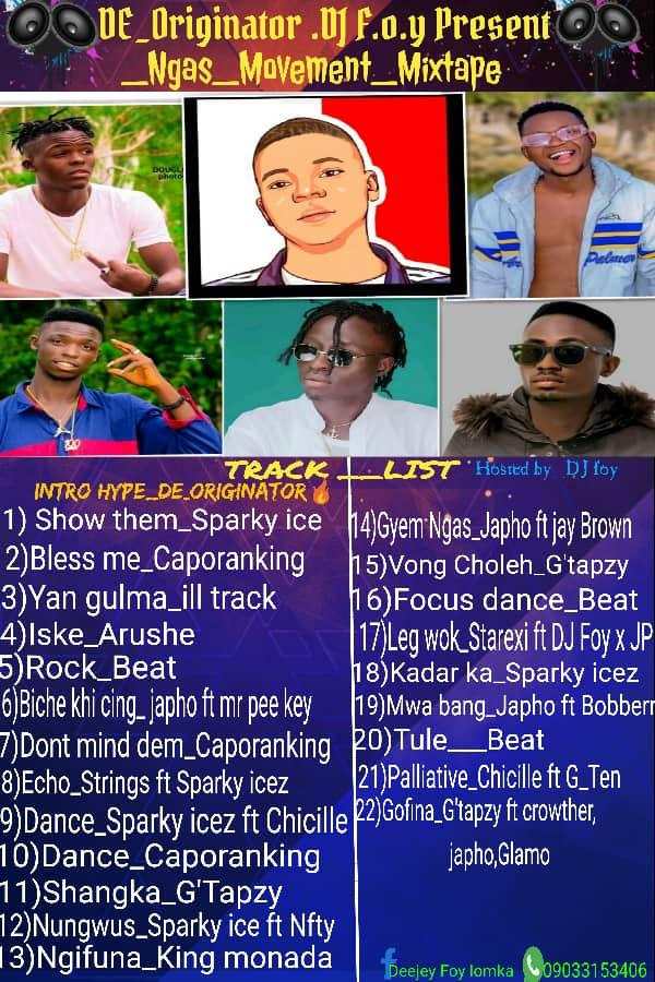 [Mixtape] DJ F.O.Y - Ng as Movement Mixtape - 22 track mixtape #Arewapublisize