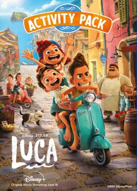 Disney Luca free printables