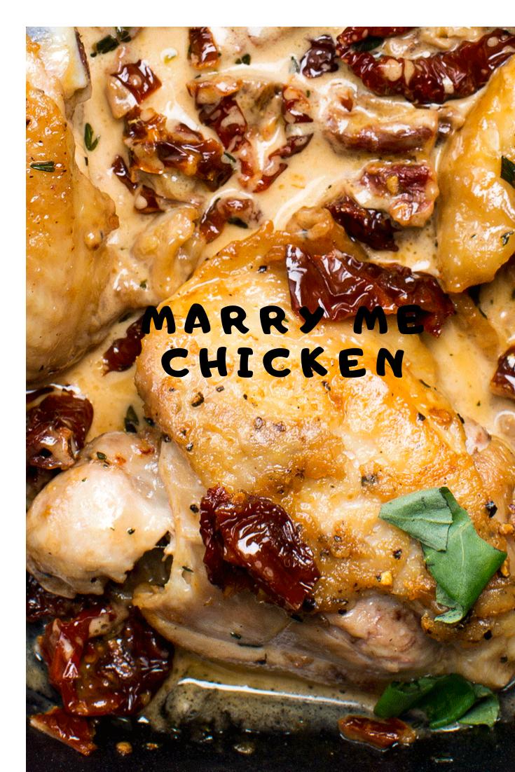 MARRY ME CHICKEN #Dinner #Healthyrecipes