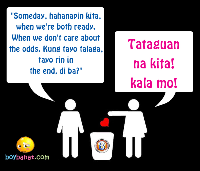 Break up script tagalog