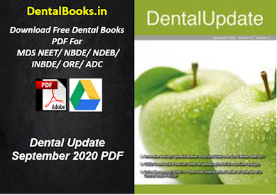 Dental Update September 2020 PDF