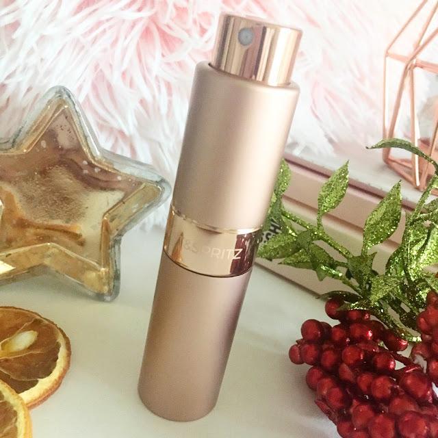 Twist and Spritz perfume holder