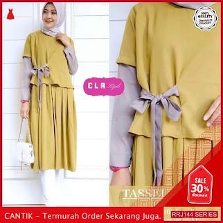 Jual RRJ144A141 Atasan Tassel Tunik Wanita Mc Terbaru Trendy BMGShop