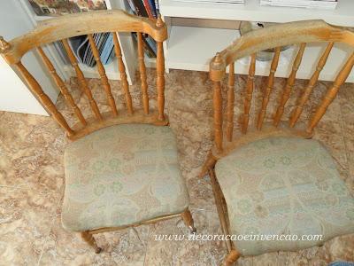 reformar cadeiras velhas