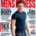 Zac Efron exibe físico sarado na capa da Men's Fitness de junho