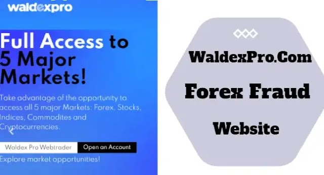 Attention: Waldexpro.com Scam Forex Website