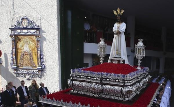 La Cofradía del Cautivo presentará la reforma del trono del Señor el próximo domingo día 14