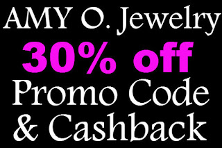 AMY O. Jewelry Promo Code February, March, April, May, June, July 2016