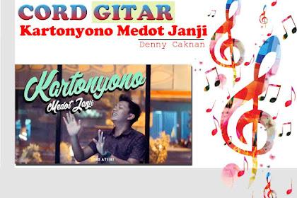 Kunci Gitar Kartonyono Medot Janji (Denny Caknan)
