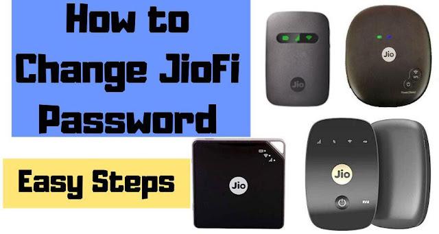 How to Change JioFi Password