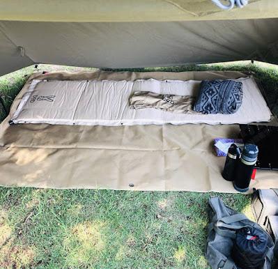 バンドッグ ソロベースをキャンプ場で使用してみた様子