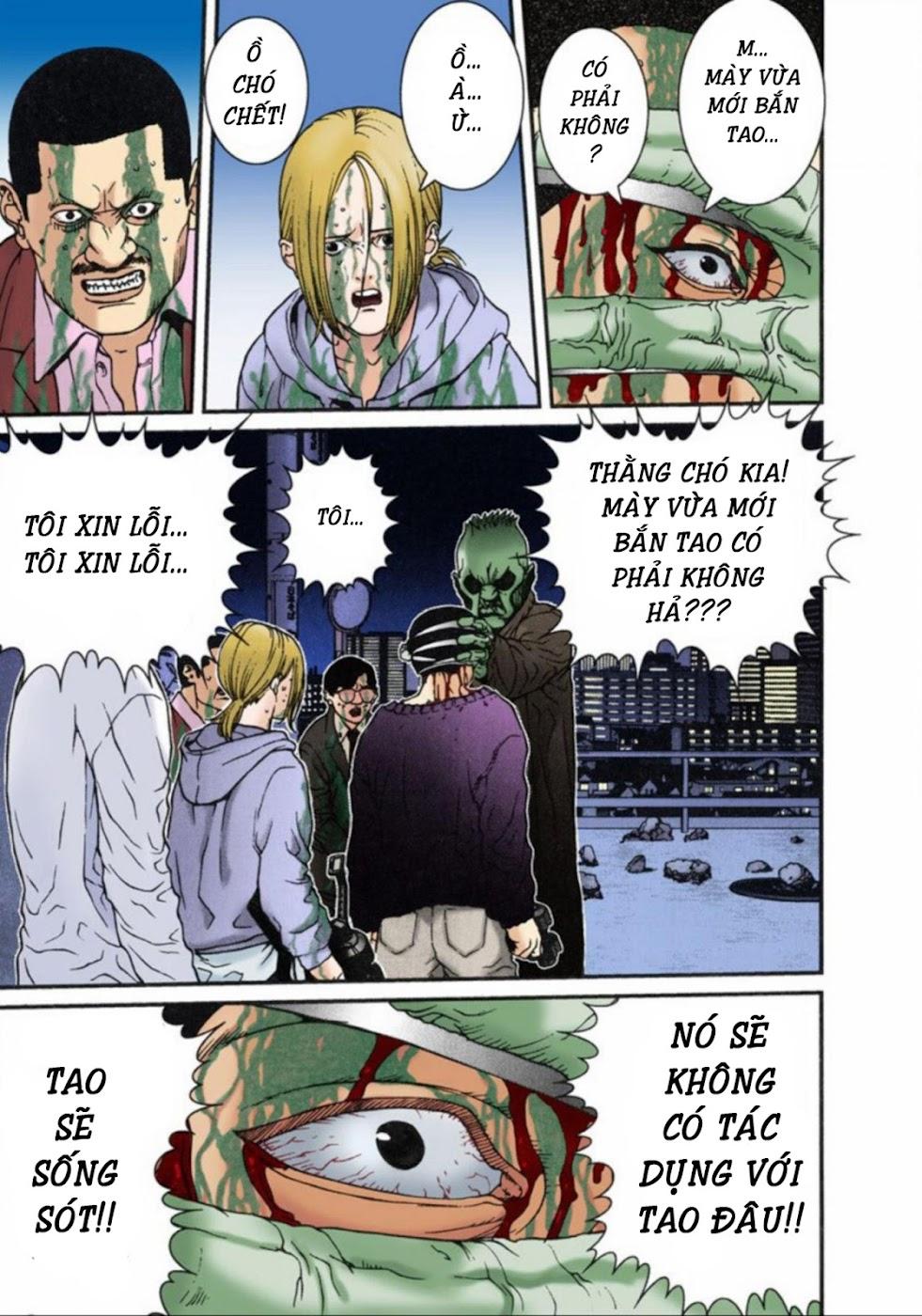 Gantz Chap 10: Cơn thịnh nộ trang 17