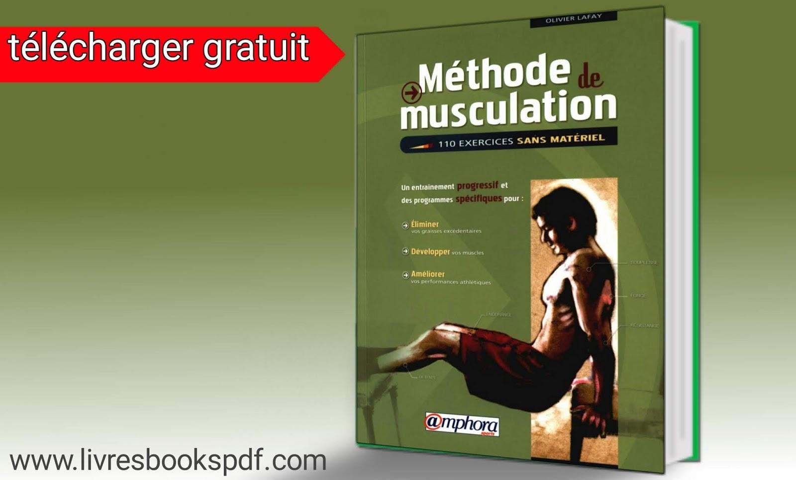 Méthode de musculation , musculation optimisation Turbo, 110 exercices sans materiel, musculation
