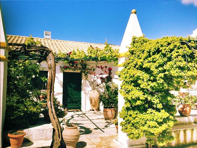 Paleokastritsa Monastery Corfu