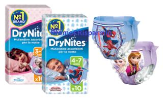 Logo Drynites: diventa una delle 1.000 tester delle mutandine assorbenti