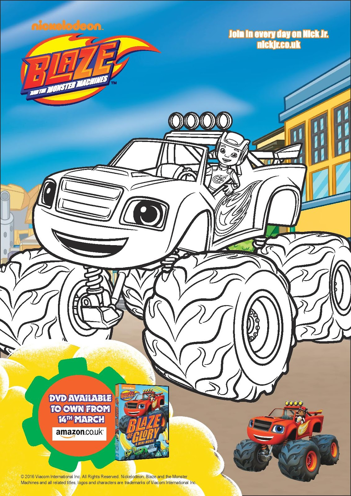Blaze and the Monster Machines: Blaze of Glory - Play and ...
