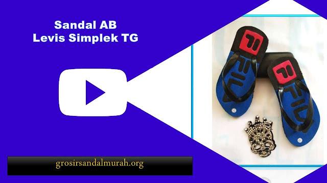 grosirsandalmurah.org - Sandal Anak - Sandal Levis Simplek TG