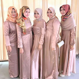 Kebaya Pesta Satin 2017