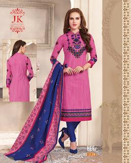 JK Heenaz 11 Cotton Dress Material