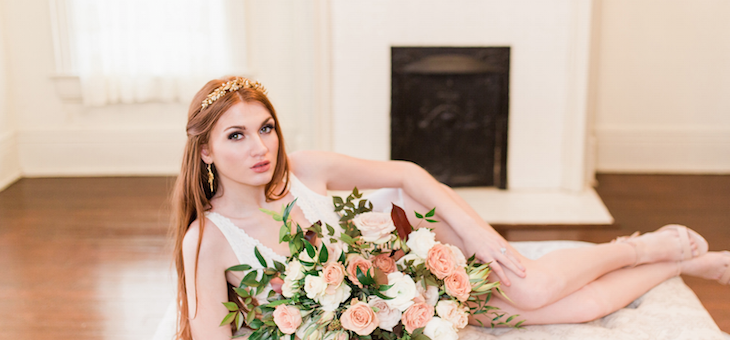 A Soft & Sensual Bridal and Boudoir Session