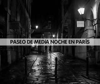 Paseo de media noche en París