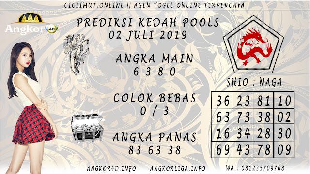 PREDIKSI KEDAH POOLS 02 JULI 2019