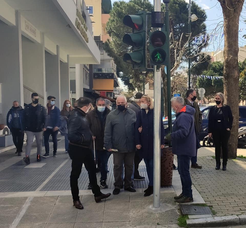 Συσκευές ηχητικής σήμανσης για ΑμεΑ στην Αλεξανδρούπολη