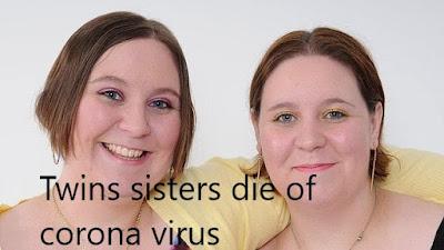 twin sisters die of coronavirus in uk southampton,coronavirus deaths uk