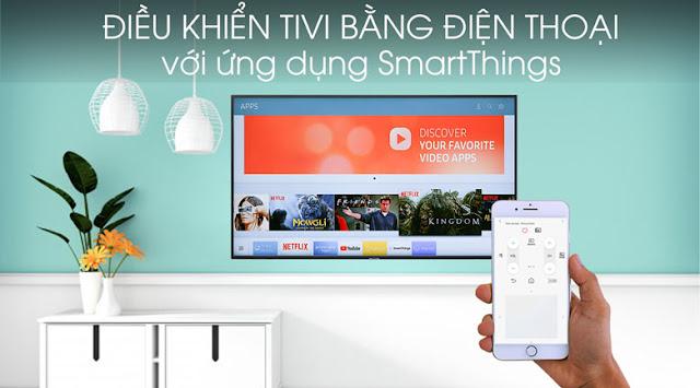 Smart Tivi Samsung 4K 43 inch UA43RU7400KXXV