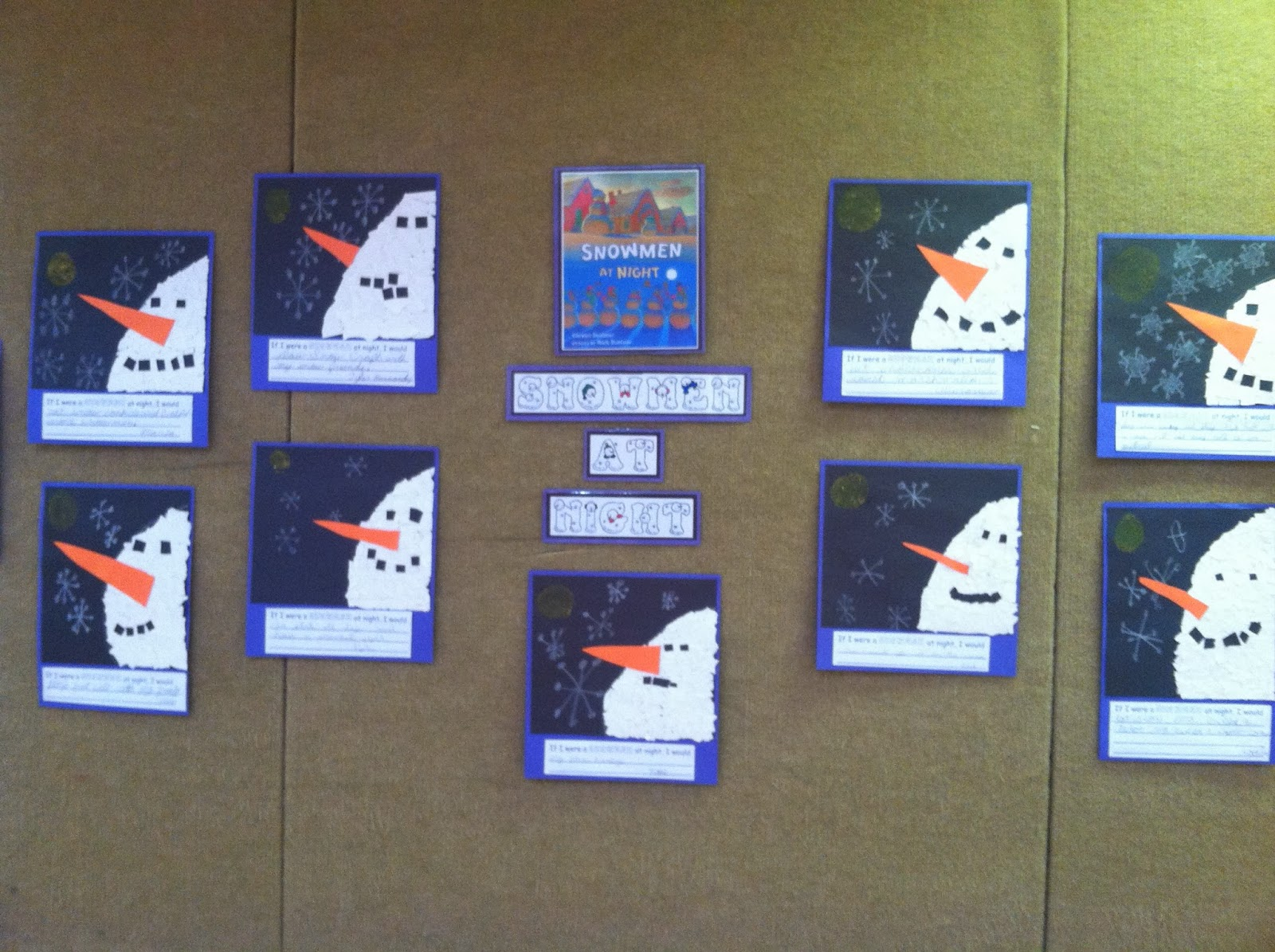 Just Another Day In 4th Grade Snowmen Have Come To Town