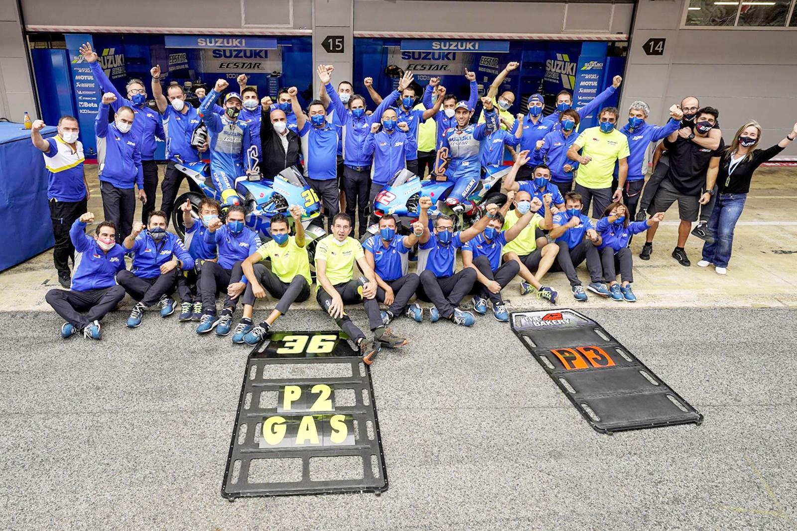 Laju GSX-RR Tak Terbendung. Suzuki Amankan Double Podium Catalunya GP