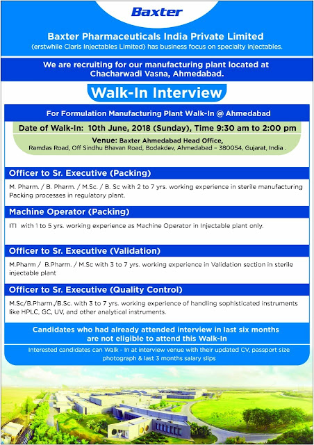 Baxter Pharmaceuticals India Pvt Ltd