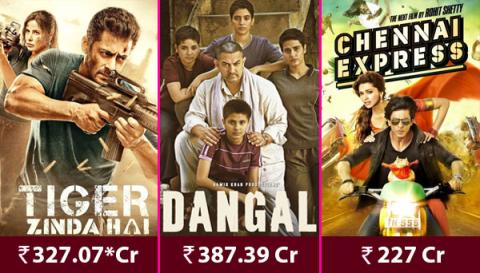 Salman, Shah Rukh and Aamir Khan Make A Staggering Rs 940 Crore By These Three Films