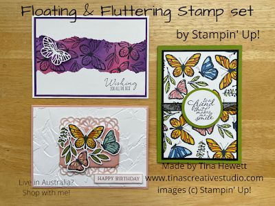 Floating & Fluttering card class cards