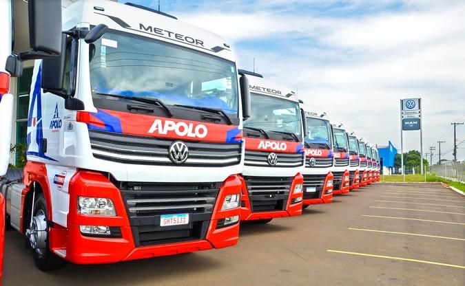 Apolo Transportes adquire 10 caminhões Volkswagen Meteor 28.460