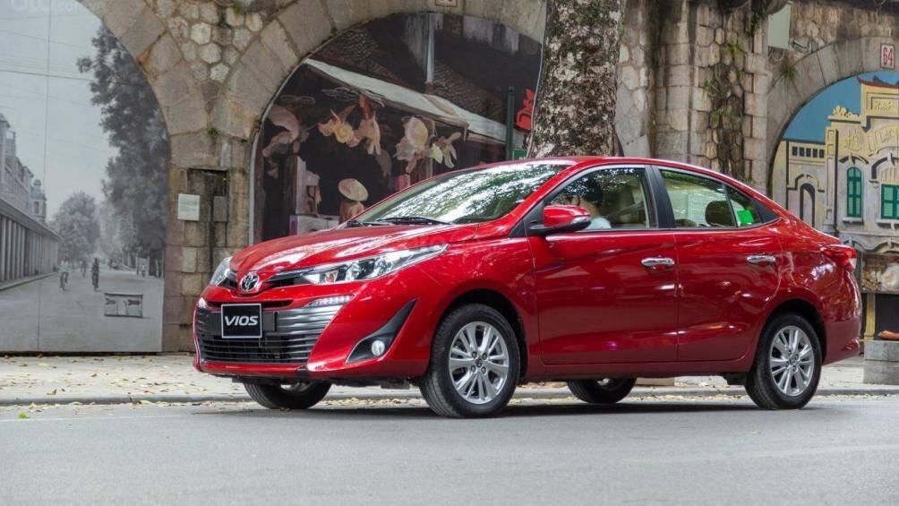 Hình ảnh mới nhất của Toyota Vios 2021 tại Ấn Độ