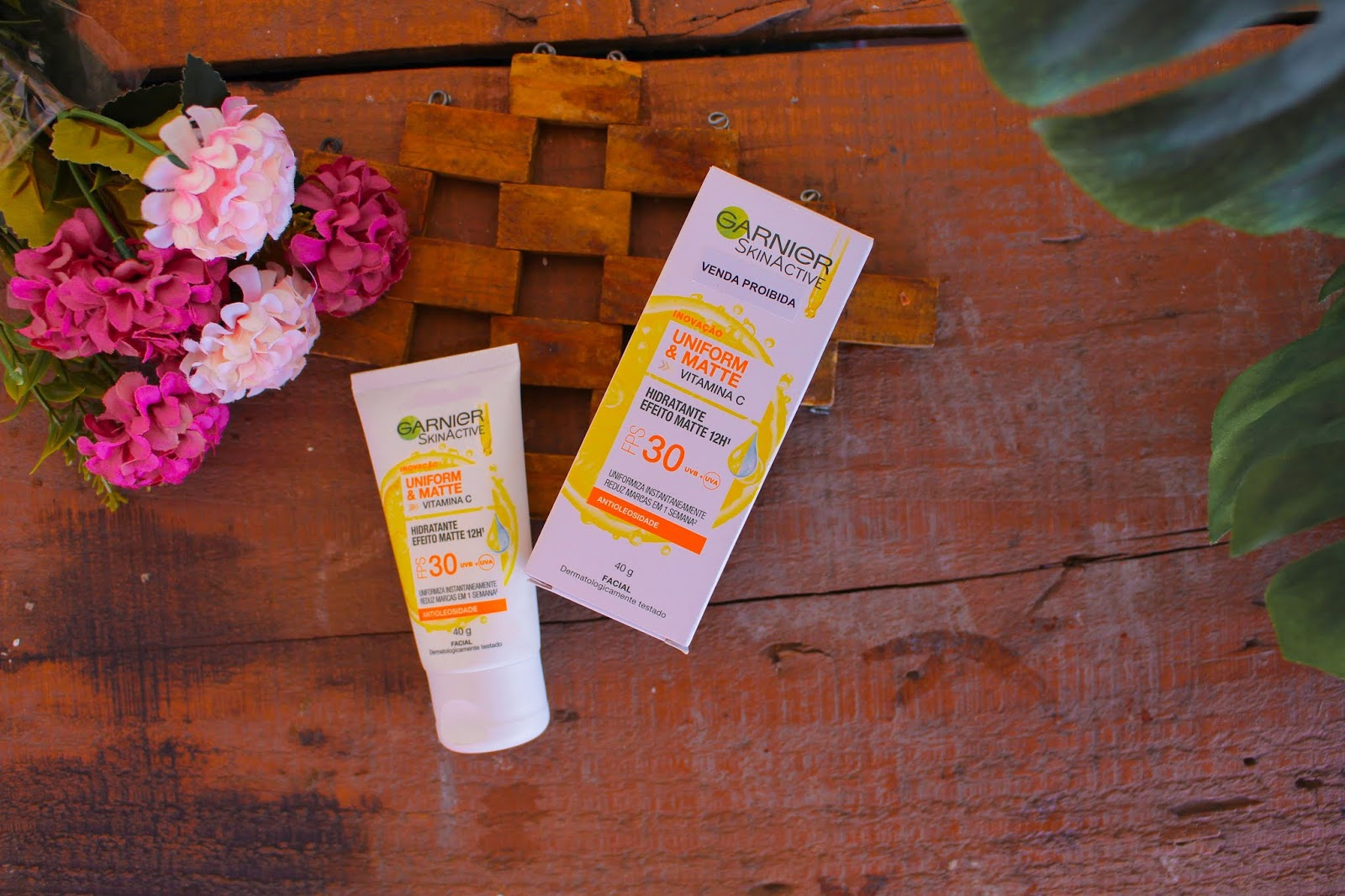 Resenha: Hidratante Facial Matte Garnier Skin Uniform & Matte