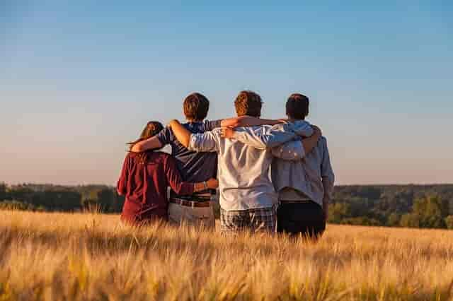 What is a four person relationship called