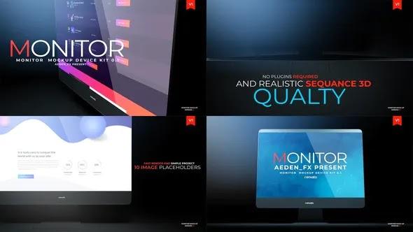 Videohive - Monitor Mockup Presentation 01 24018699