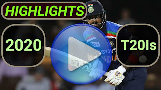2020 T20I Cricket Matches Highlights Videos