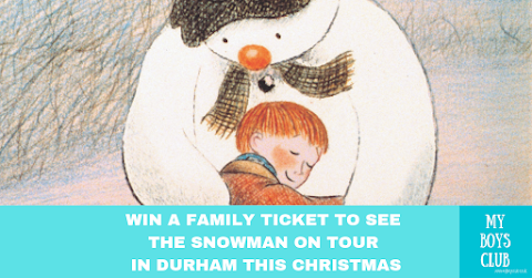 Win a family ticket to see The Snowman on Tour in Durham this Christmas (AD)