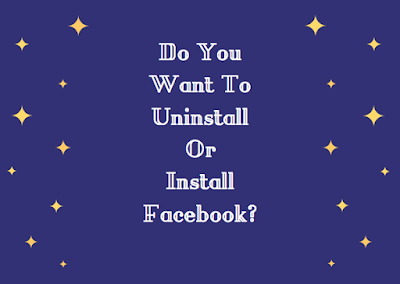 Do you want to uninstall or install fb?