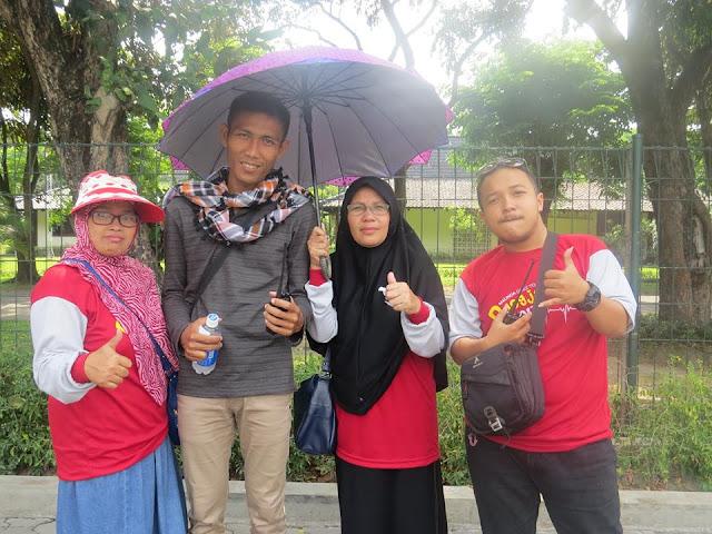Eksis Bersama di Candi Perambanan Yogyakarta