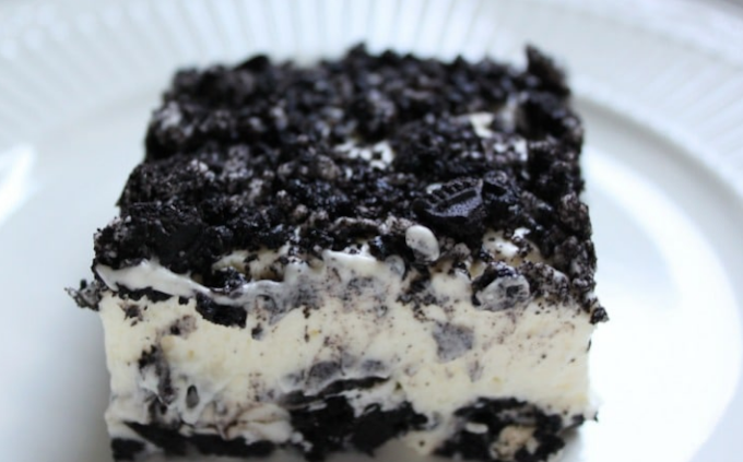 No Bake Oreo Dessert Recipe #cake #recipecake