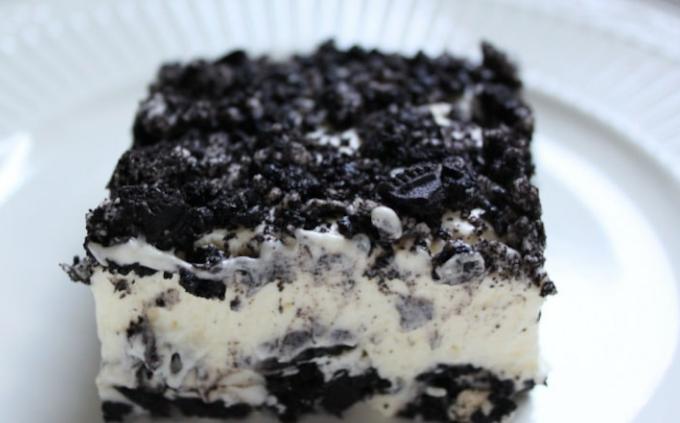 No Bake Oreo Dessert Recipe #cake #recipecake